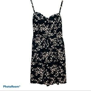 Open Back Ditsy Floral Cami Dress Large